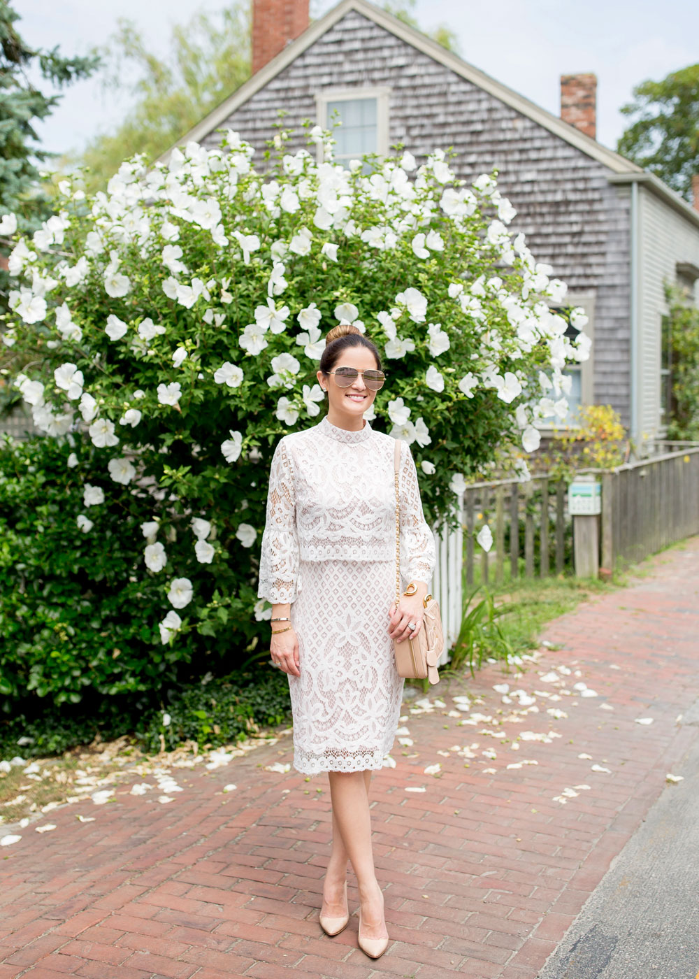 Affordable White Lace Dress