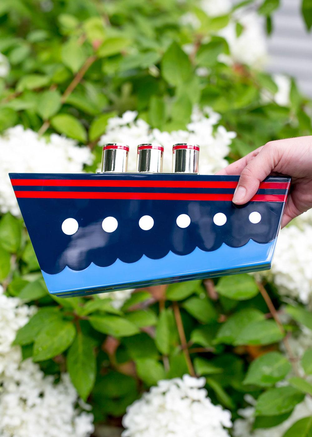 Kate Spade Expand Your Horizons Ship Clutch