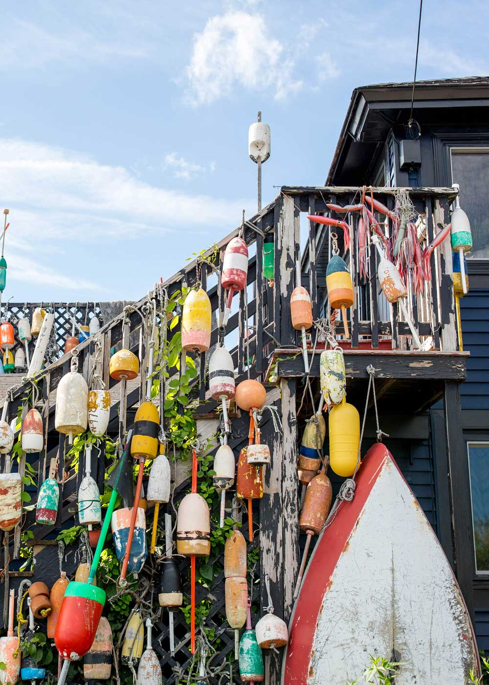 Kennebunkport Buoy Wall