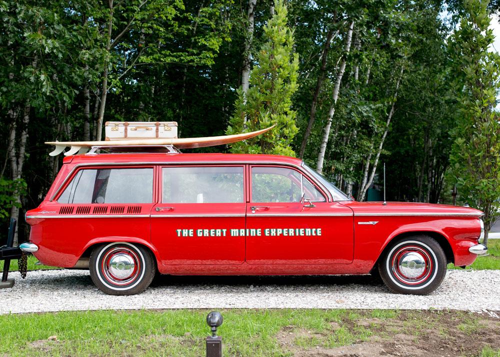 Kennebunkport Vintage Car Corvair