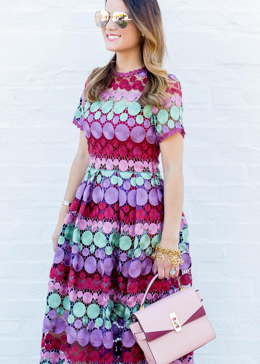 Alexis Lace Dress