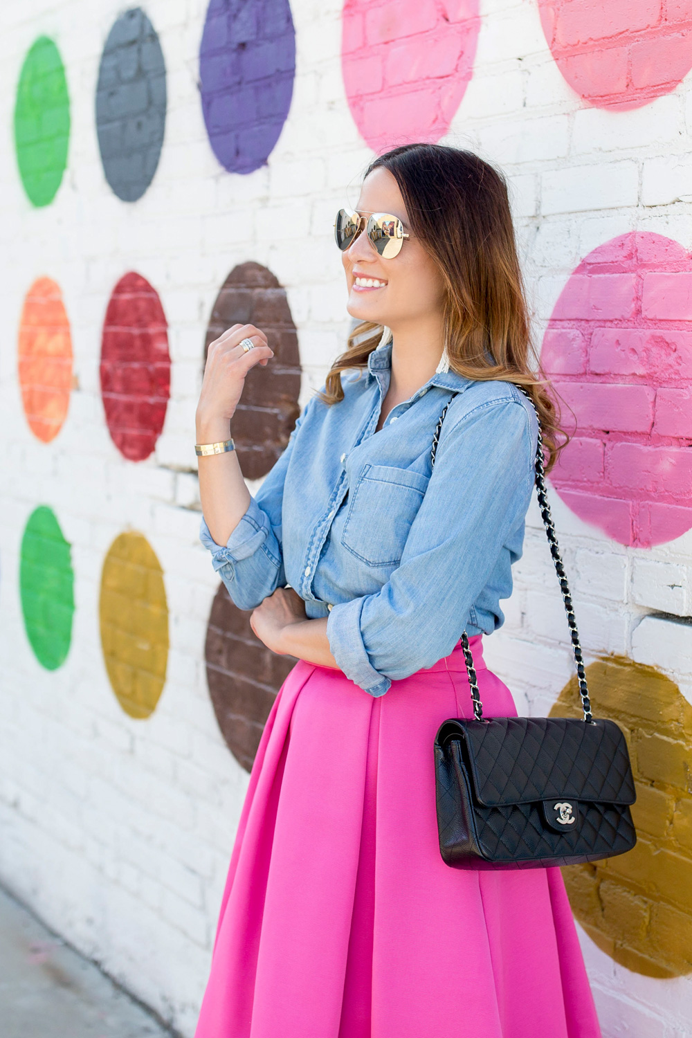 Los Angeles Colorful Wall Guide