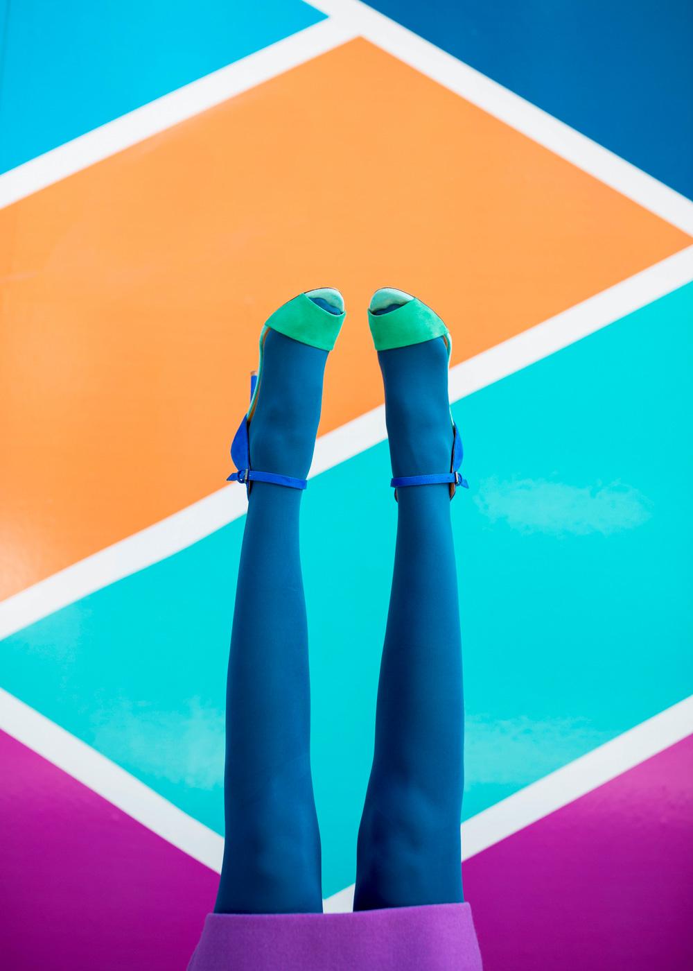 Hue Legwear Frends Headphones