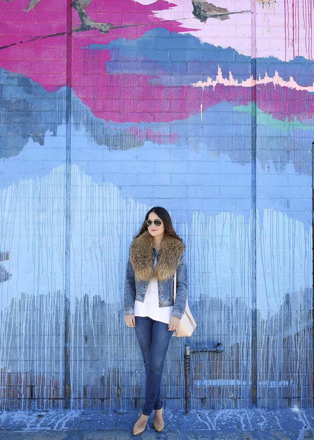 Los Angeles Kim West Street Art Mural