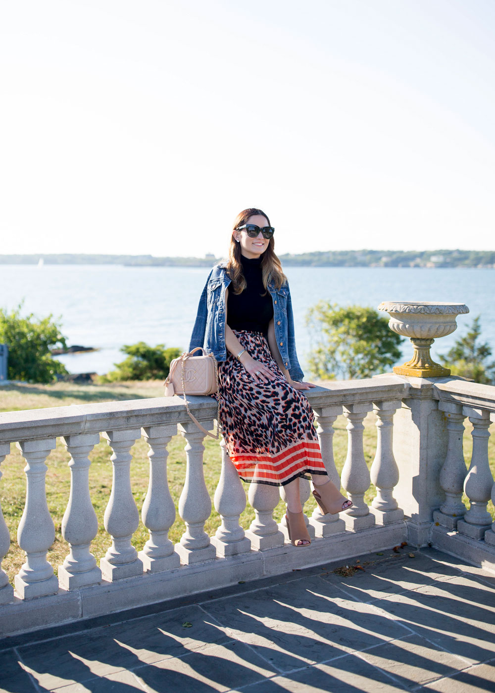 ASOS Leopard Skirt