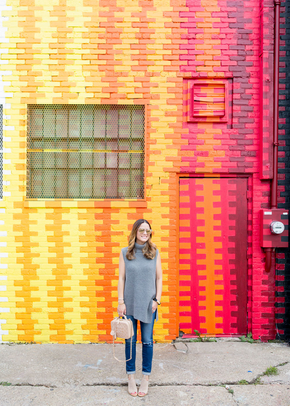 Colorful Chicago Street Art Mural Multicolor