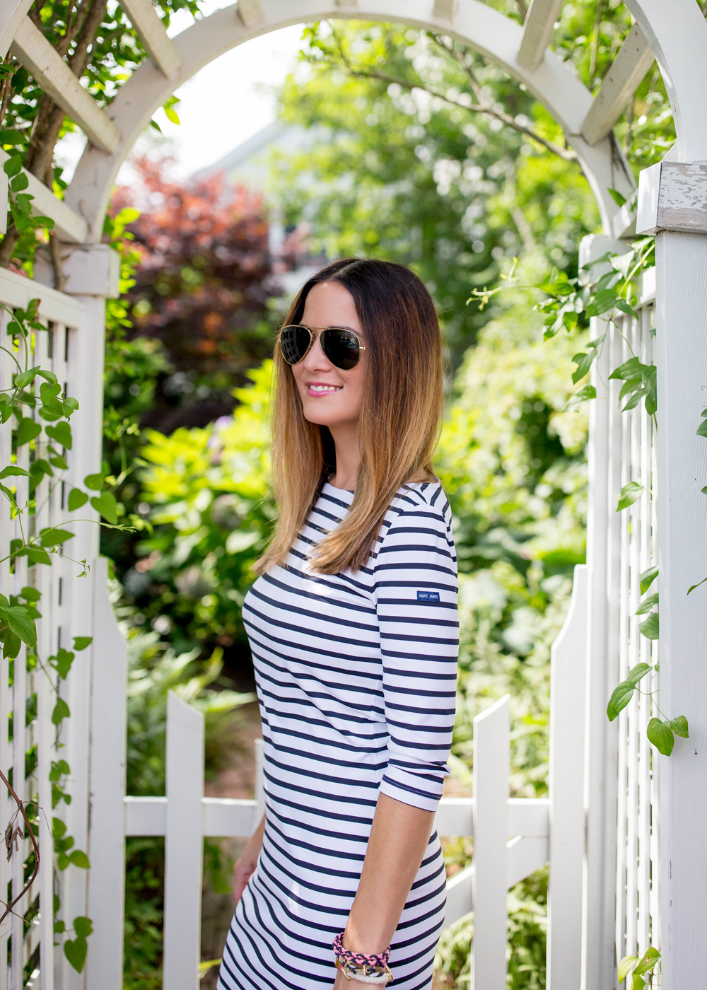 Saint James Stripe Dress