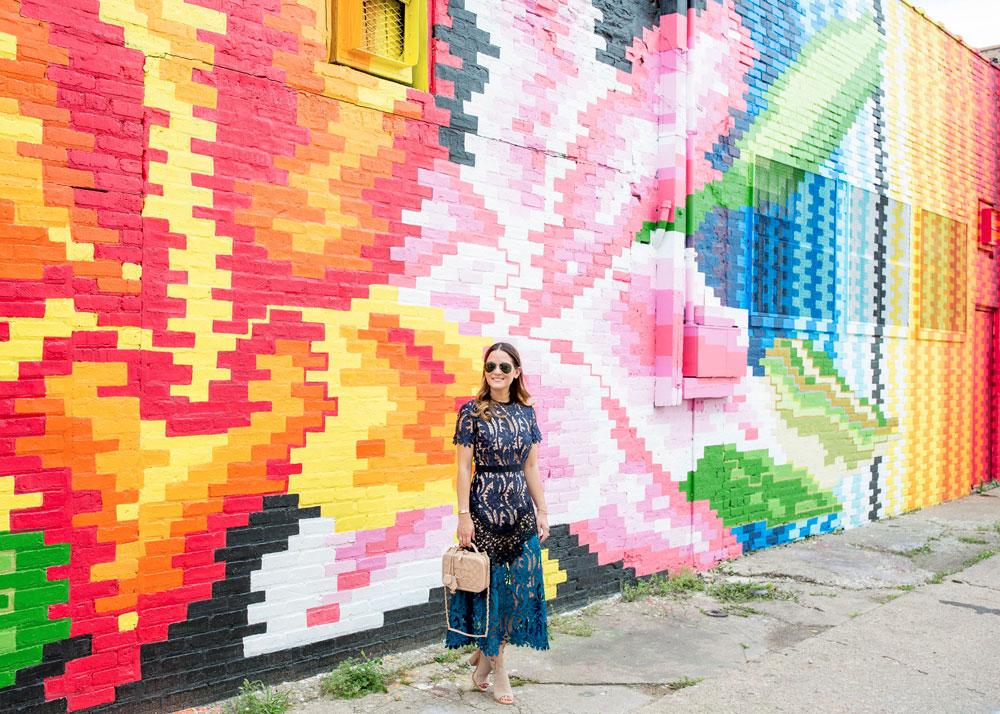 Chicago Multicolor Wall