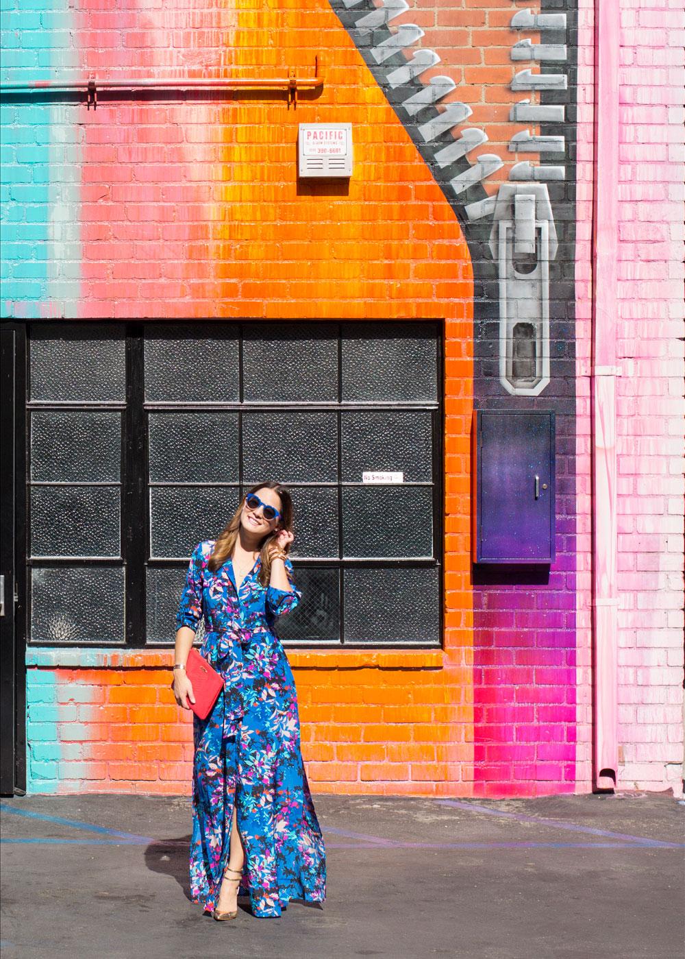 Los Angeles Murals Street Art Colorful Walls