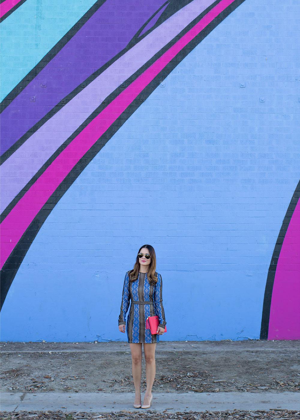 North Hollywood Colorful Mural Wall