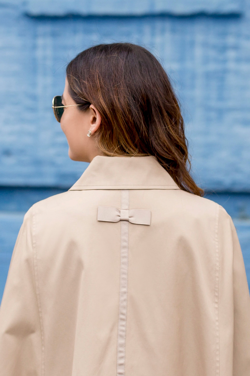 Trench with Bow Detail