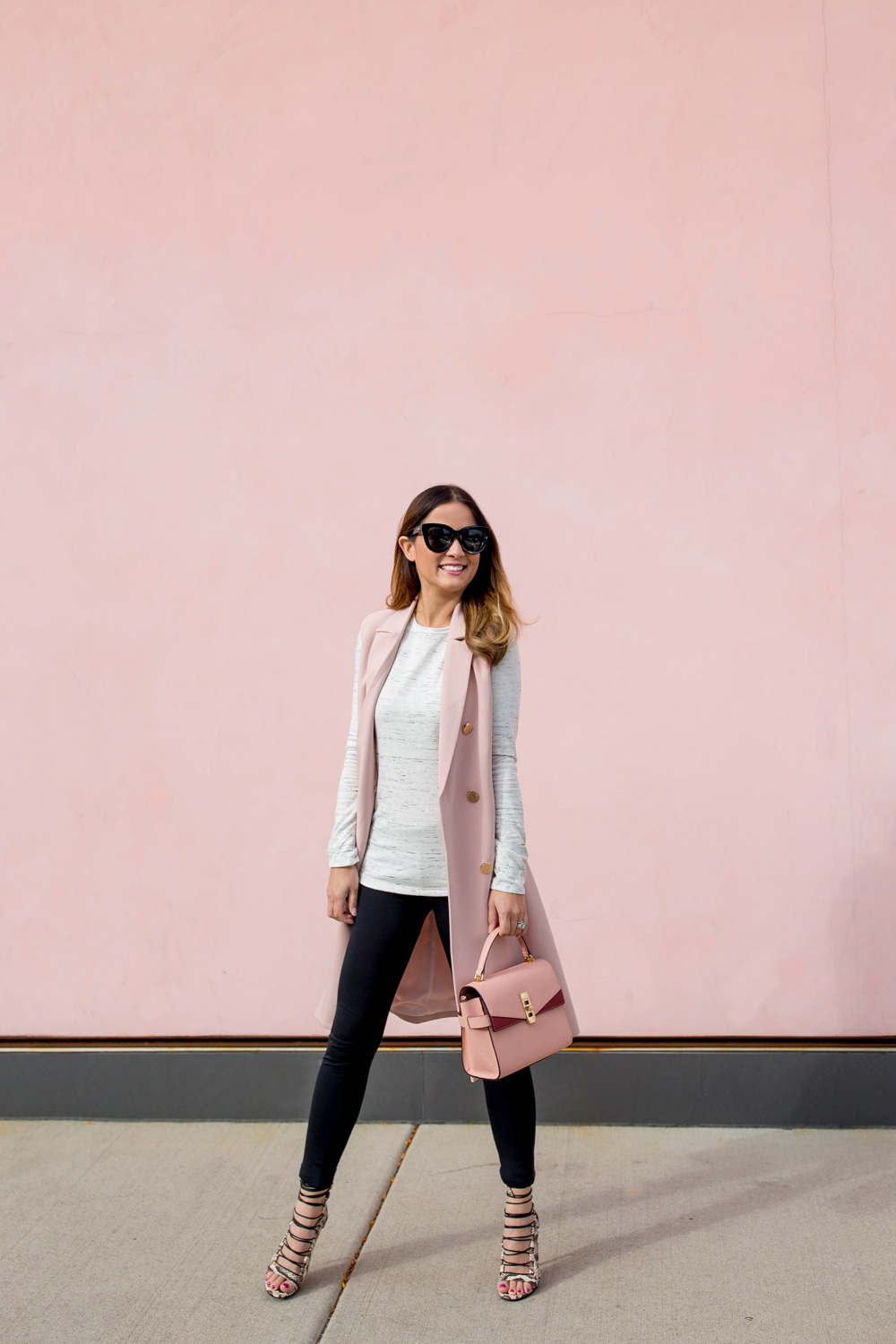 Chicago Pink Colored Wall