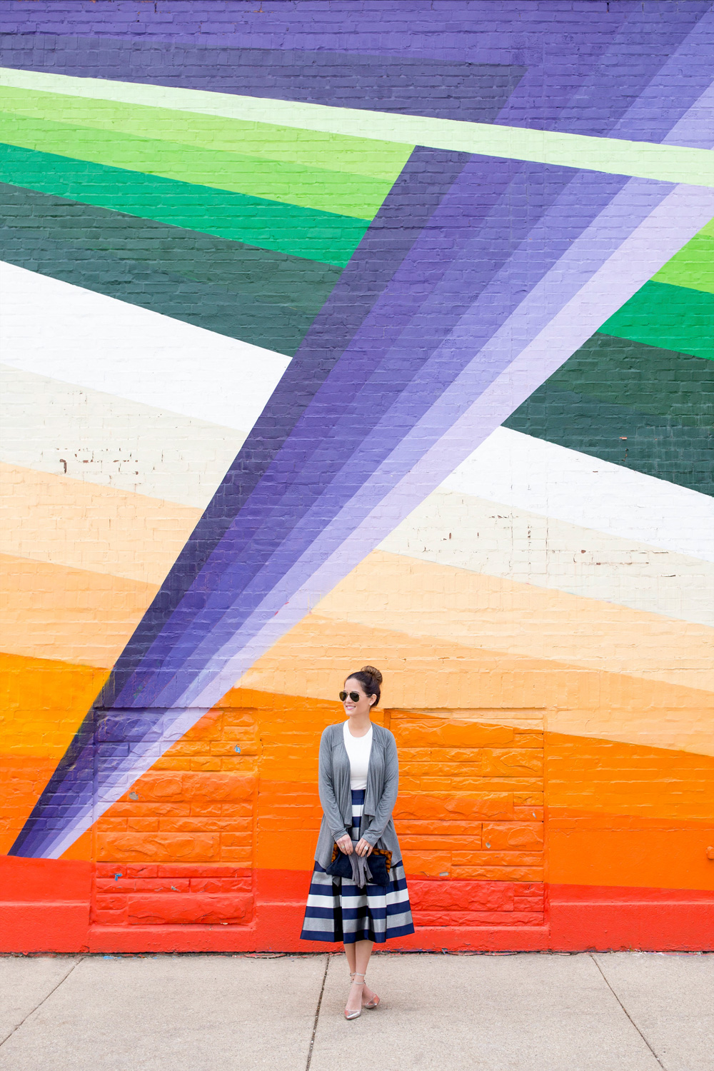 Chicago Street Art Murals Colorful Wall