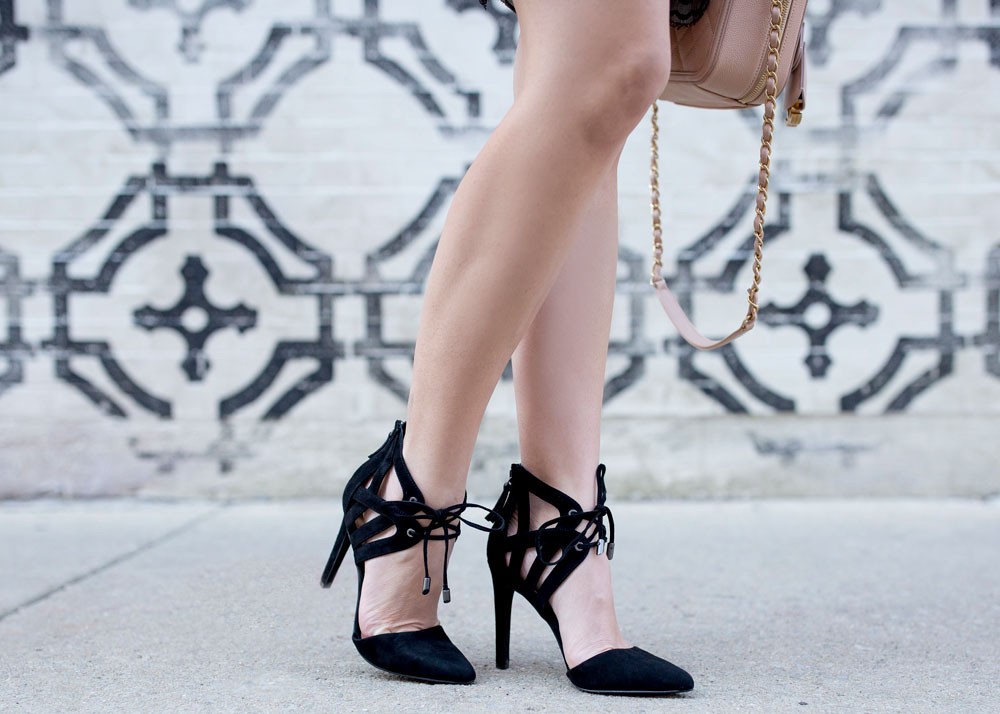 Joe's Jeans Camden Lace Up Pump