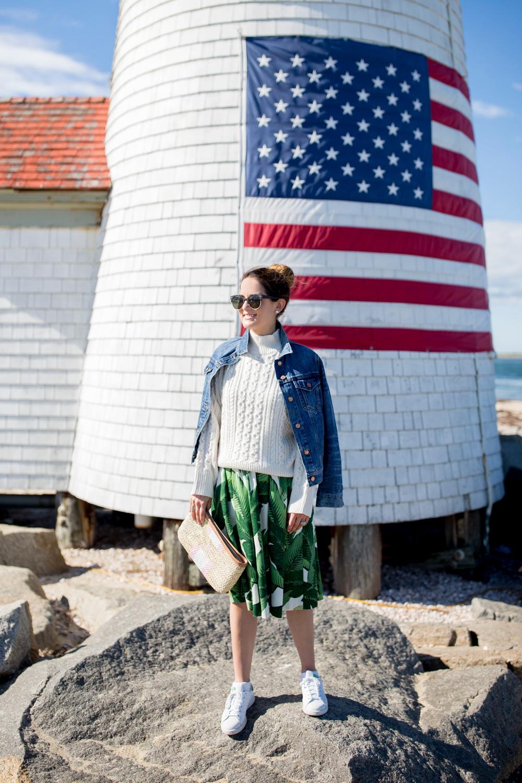 Fashion Blogger Nantucket Island