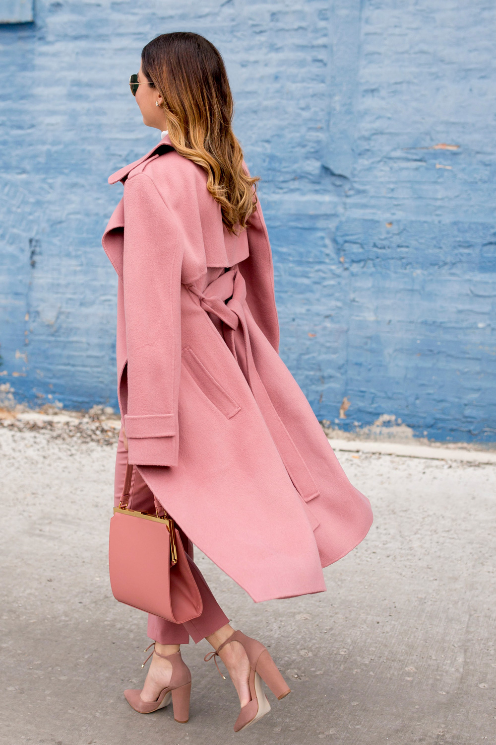Pink Theory Cashmere Coat