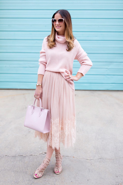 ASOS Blush Tulle Skirt