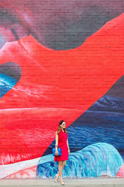 Colorful Street Art Mural Los Angeles