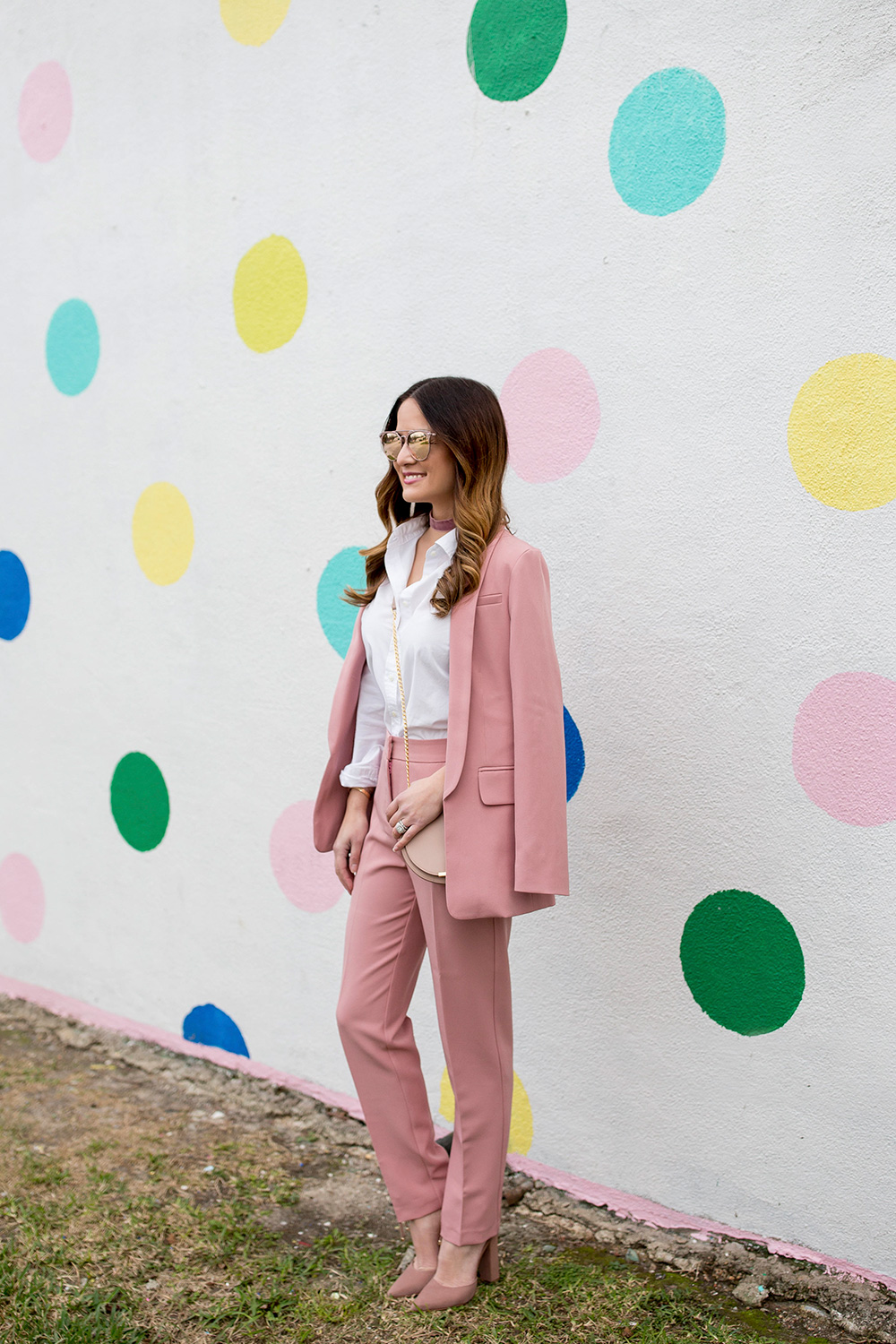 Pink Blazer and Pants