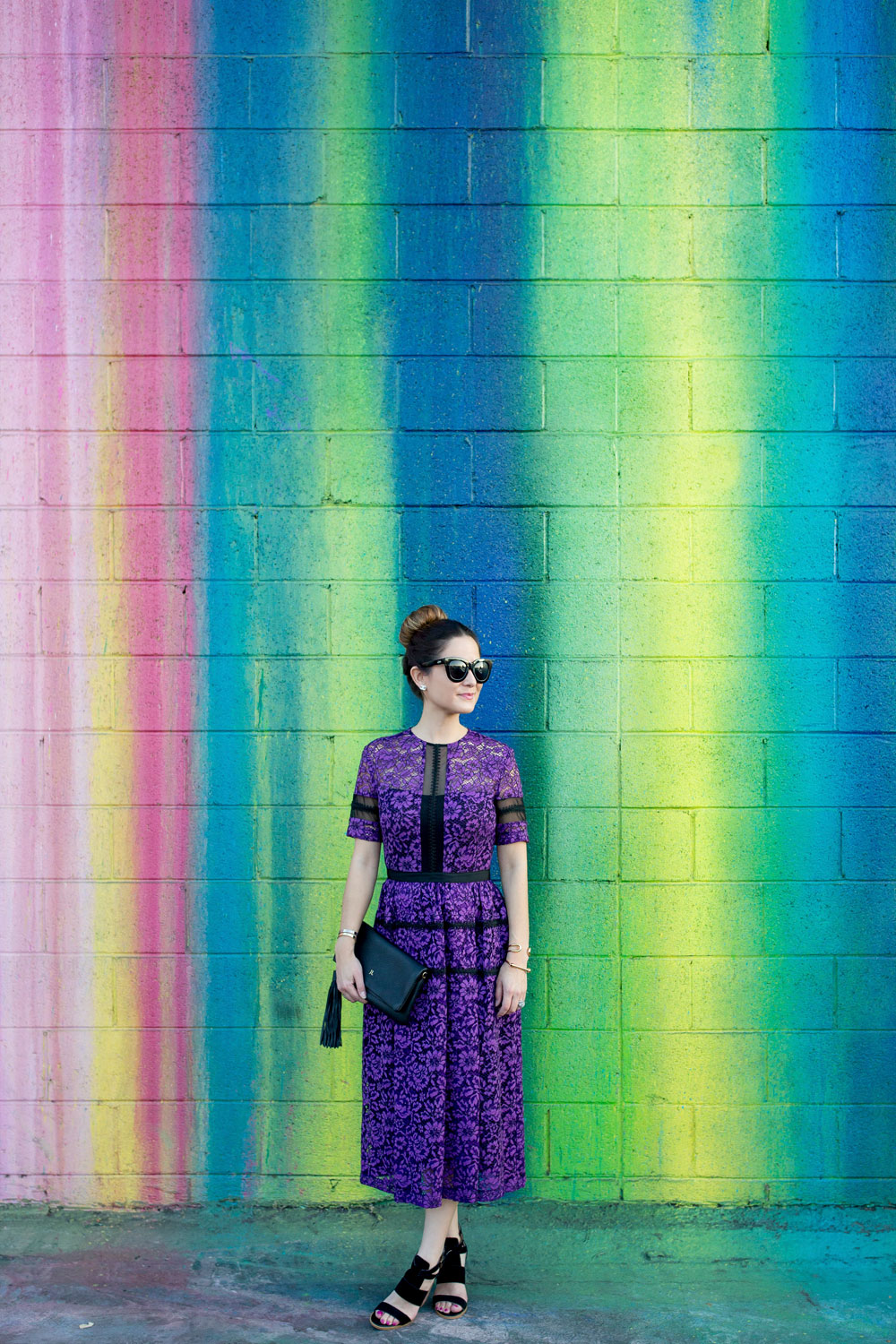 Los Angeles Colorful Wall