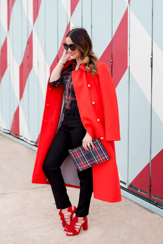 J. Crew Red Coat