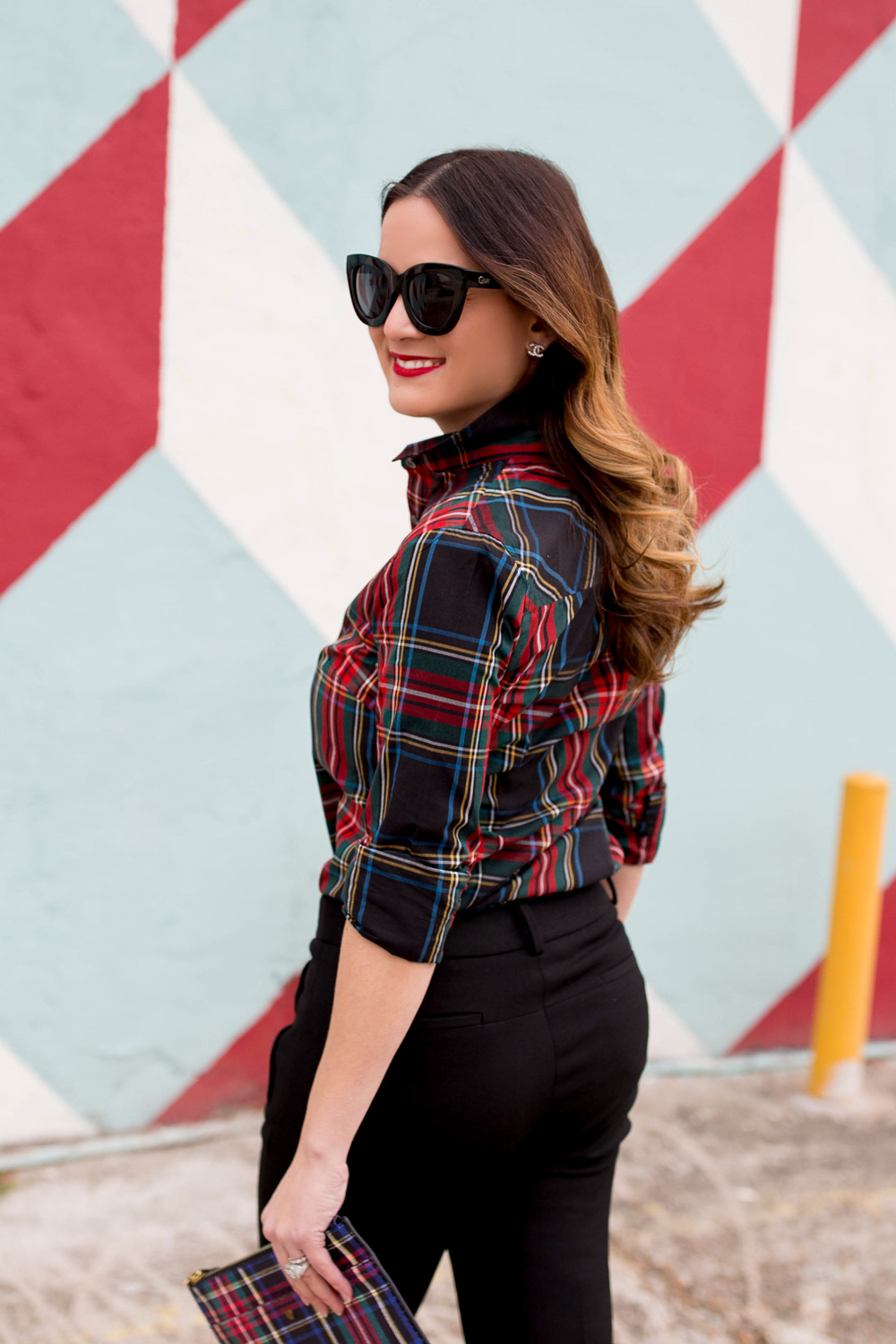 Red Black Plaid Shirt