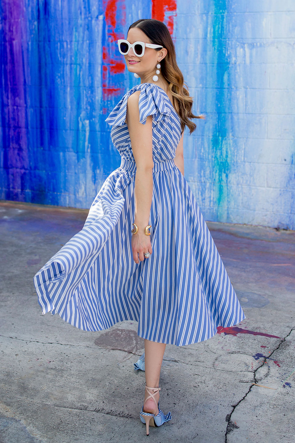 Milly Stripe Anna Dress