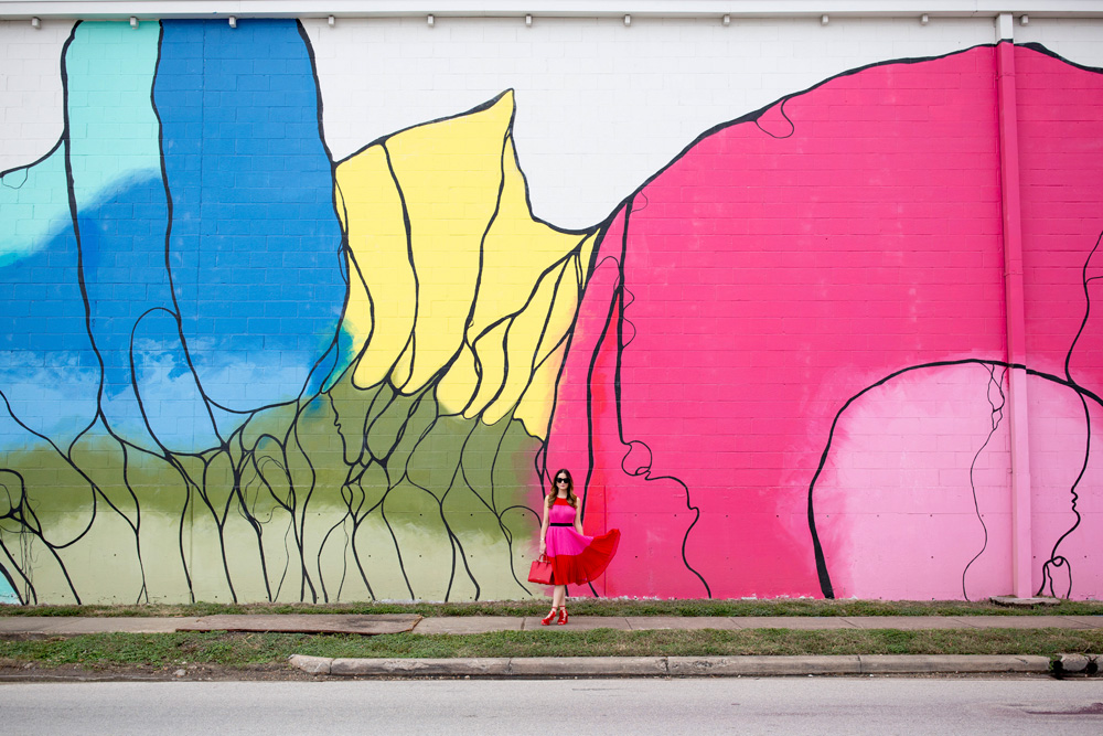 Colorful Houston Murals