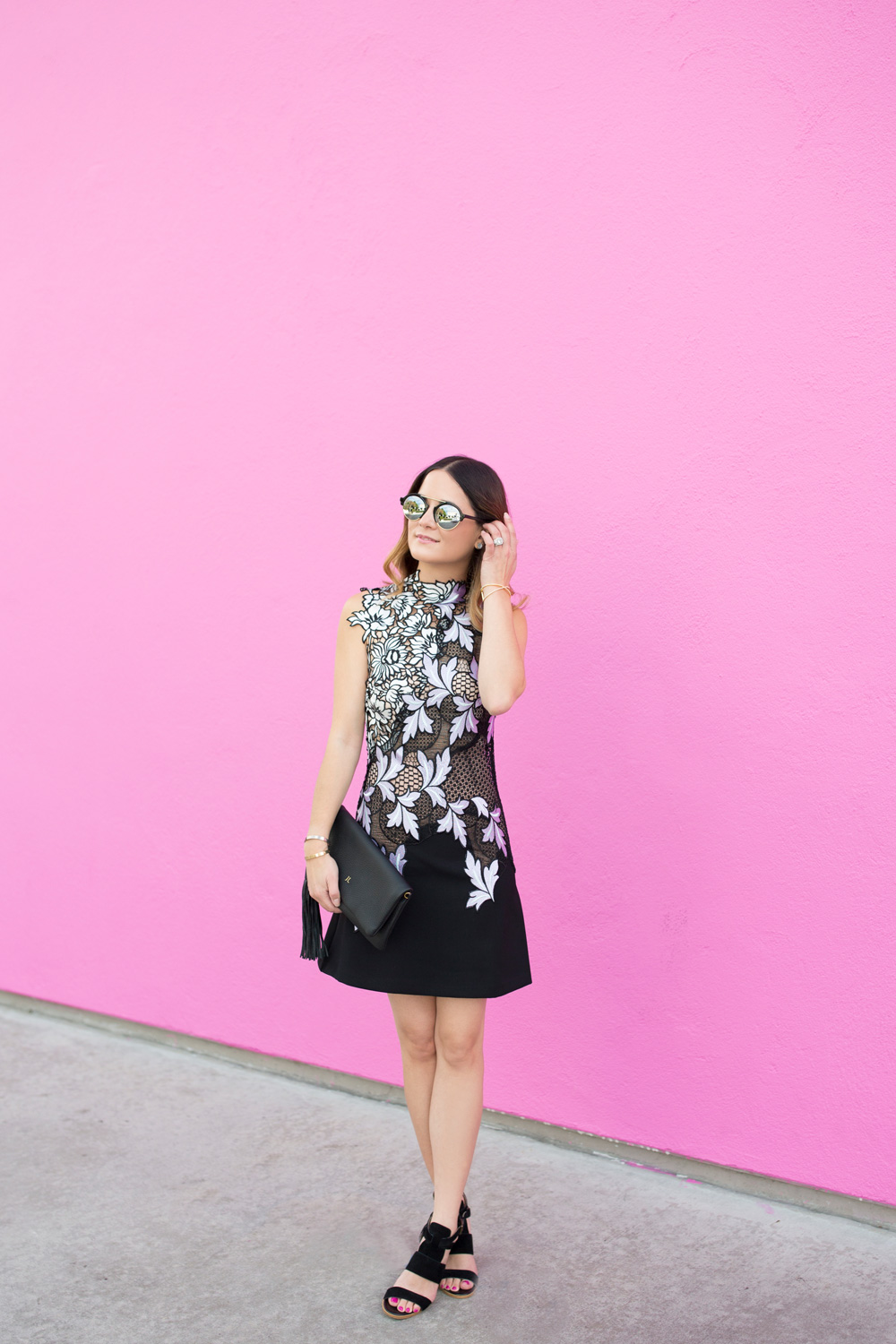 Self Portrait Lila Lace Dress