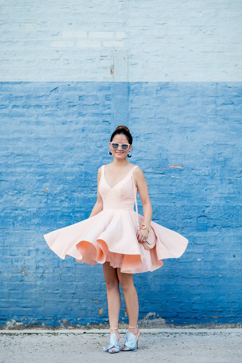 Fit Flare Pink Dress