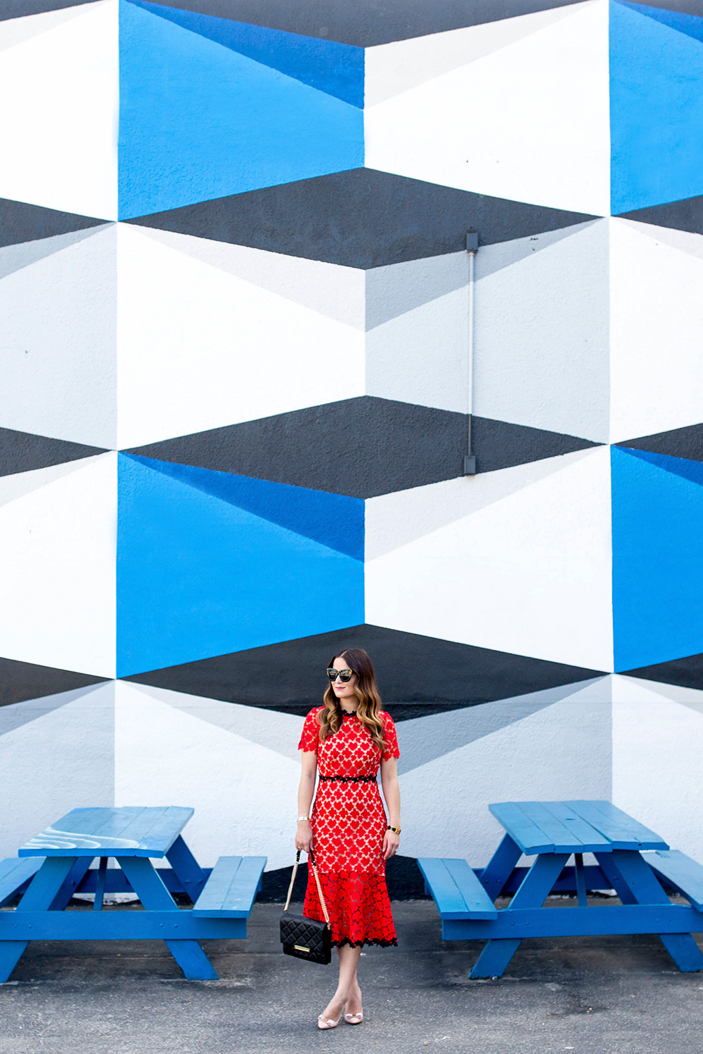 Geometric Mural Wynwood Miami