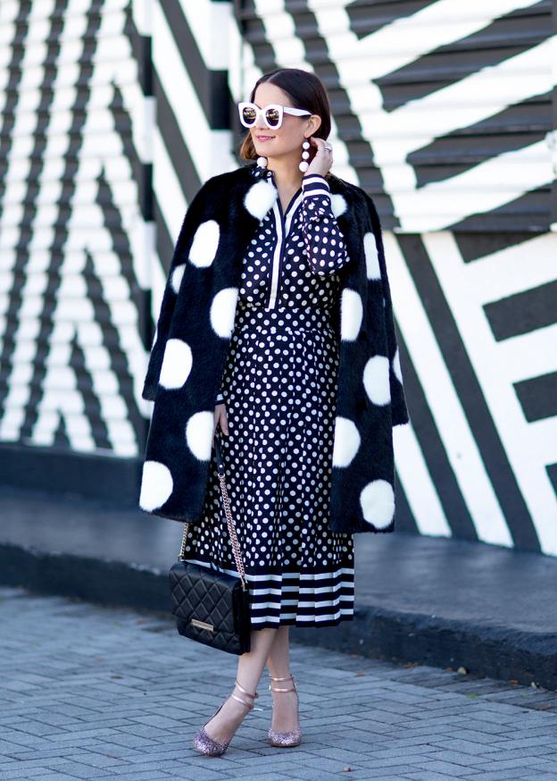Kate Spade Polka Dot Coat