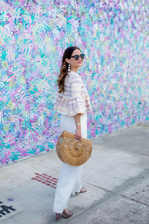 Multicolor Squiggle Wall Wynwood Miami