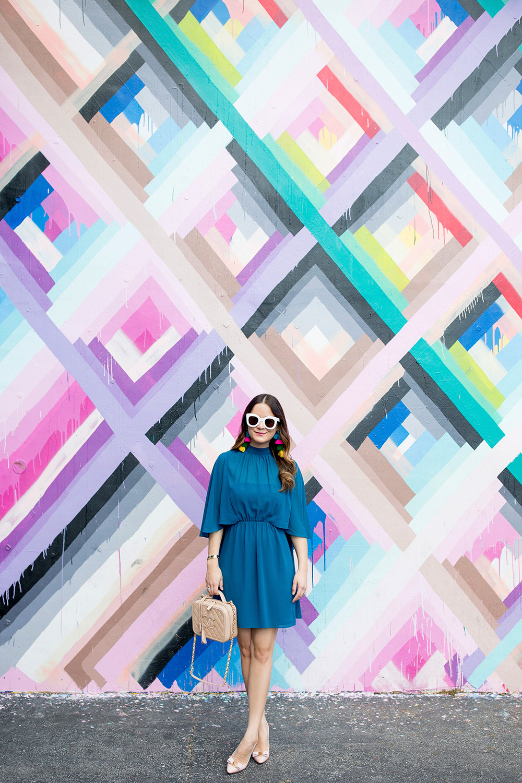 Wynwood Walls Miami Colorful Mural