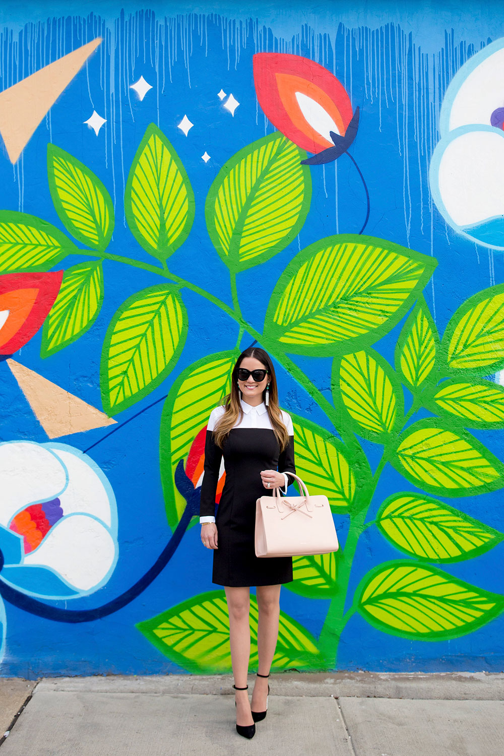 Leaf Mural Wall Chicago