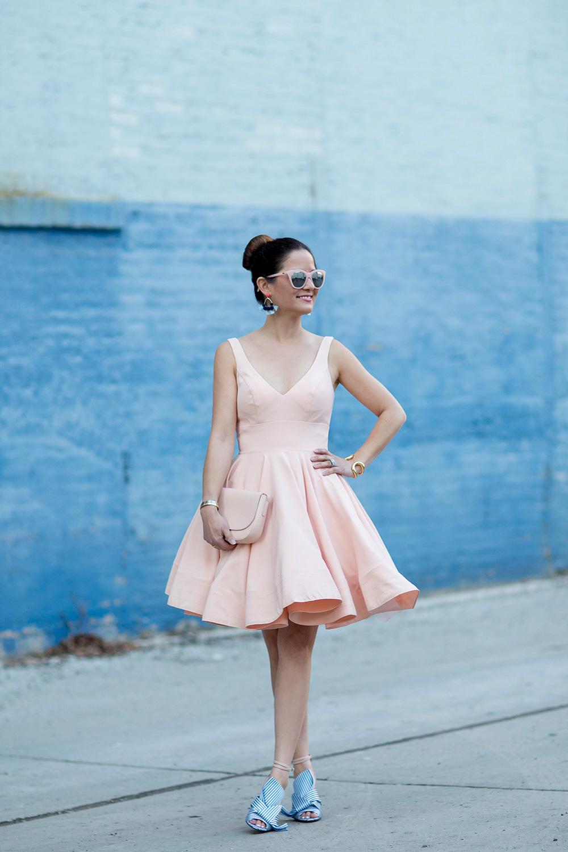 MAC Duggal Pink Dress