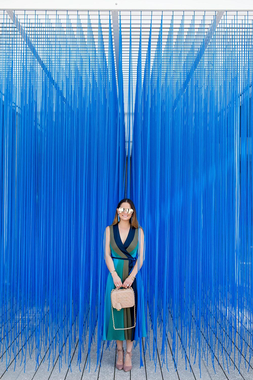 Miami Art Museum Blue Strings