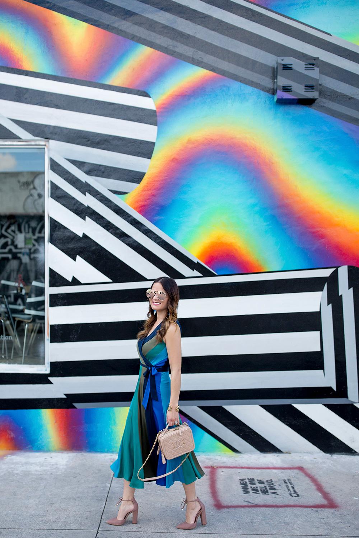 Miami Wynwood Colorful Mural