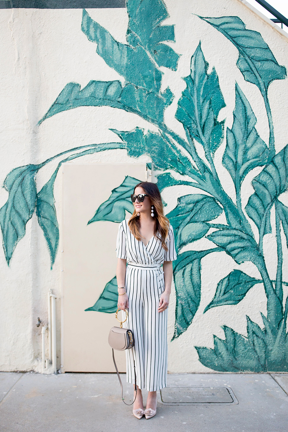 Ali and Jay Stripe Jumpsuit