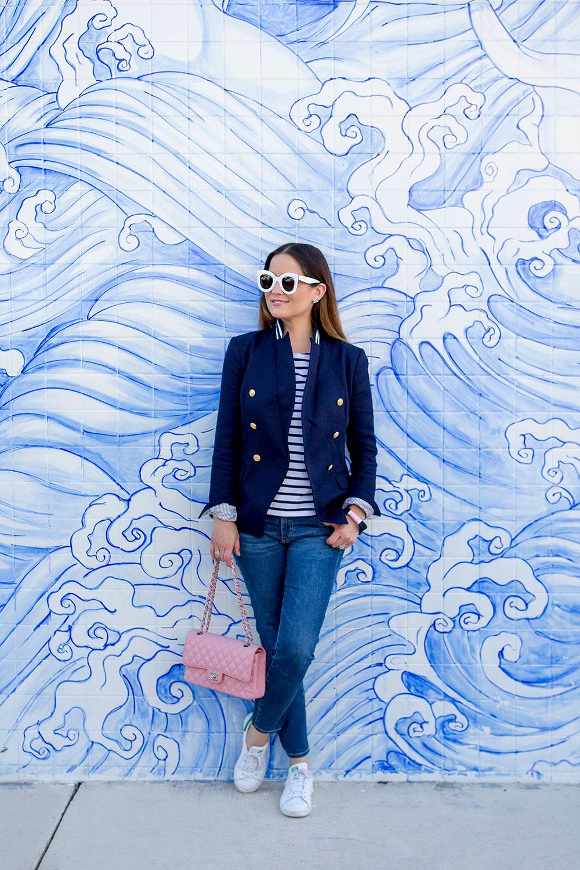 Blue Waves Mural Miami