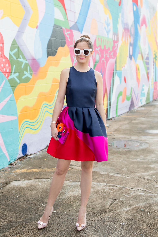 Hutch Color Block Dress