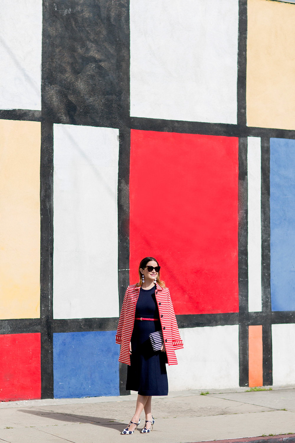 Los Angeles Mondrian Wall