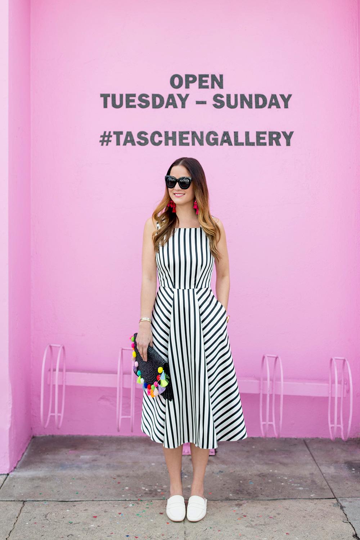 Los Angeles Taschen Gallery Pink Wall