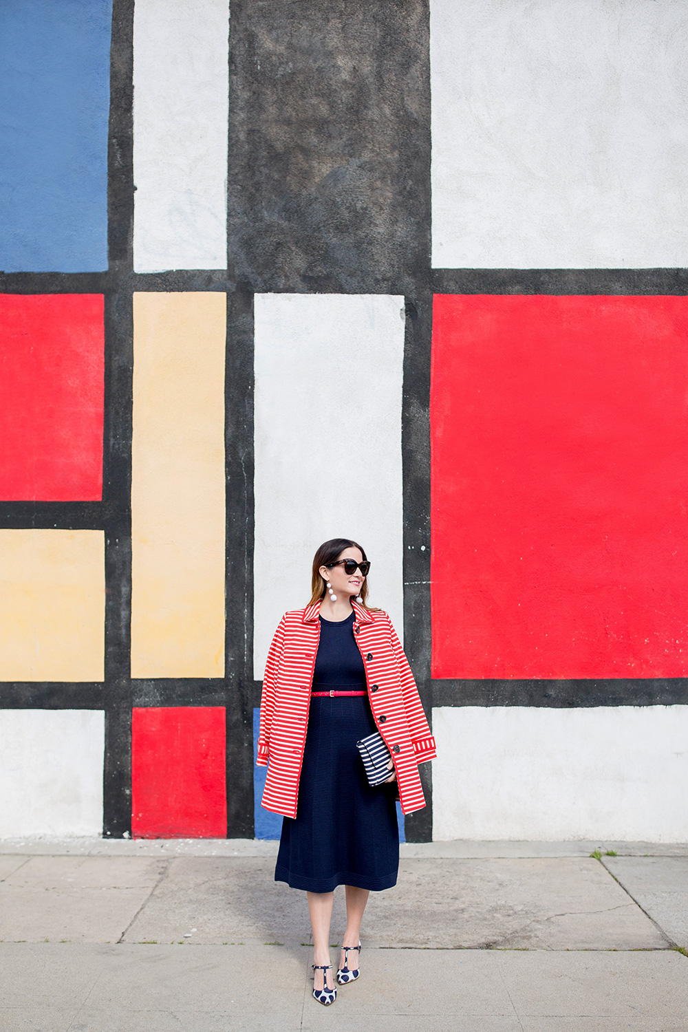 Mondrian Wall Los Angeles