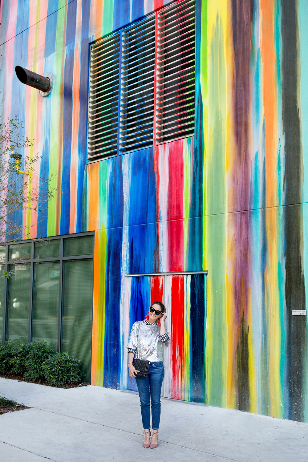 Multicolor Dripping Paint Wall Miami