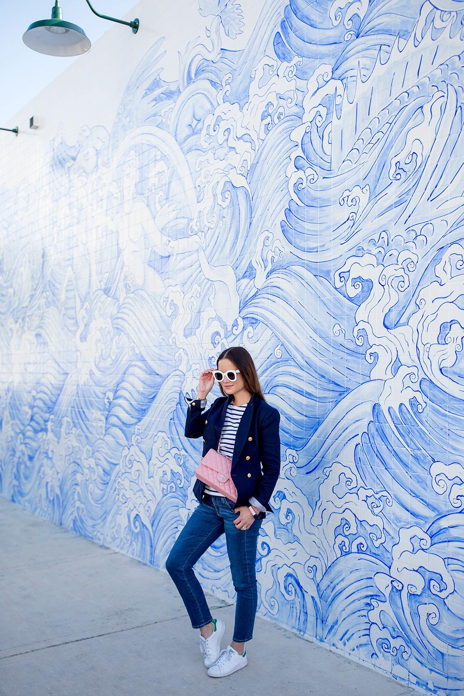 Nautical Tile Wall Miami