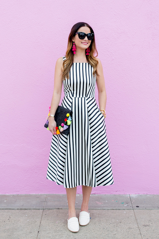 Pink Wall Los Angeles Blogger