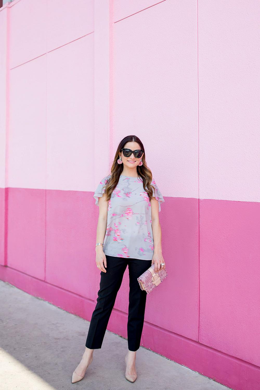 Austin Texas Pink Wall