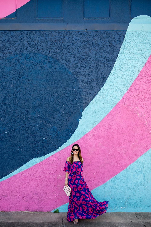 Colorful Austin Street Art Murals