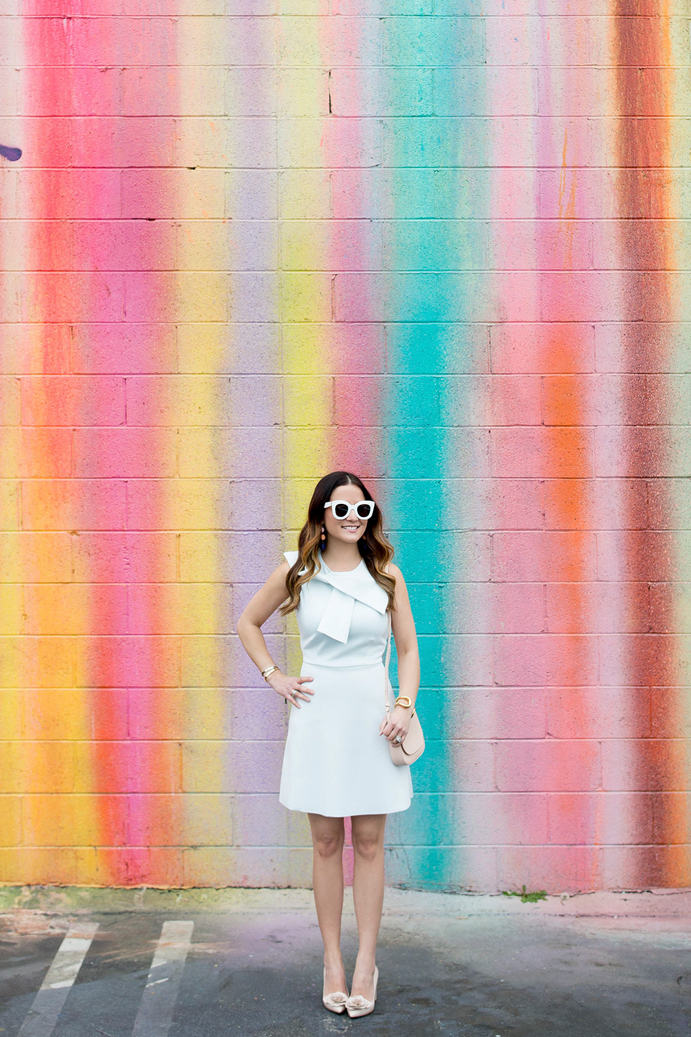 Colorful Drip Paint Wall Los Angeles
